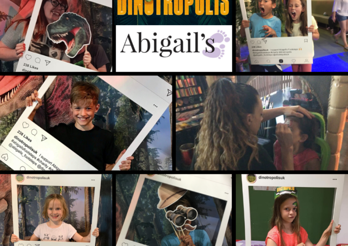 Dinotropolis charity fundraiser