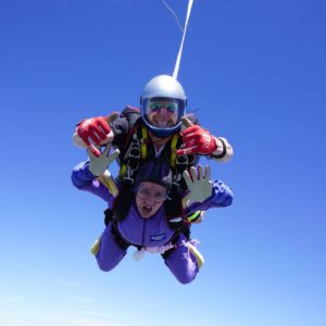 skydive fundraiser