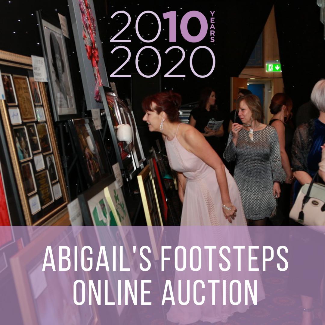 Abigails Footsteps online auction